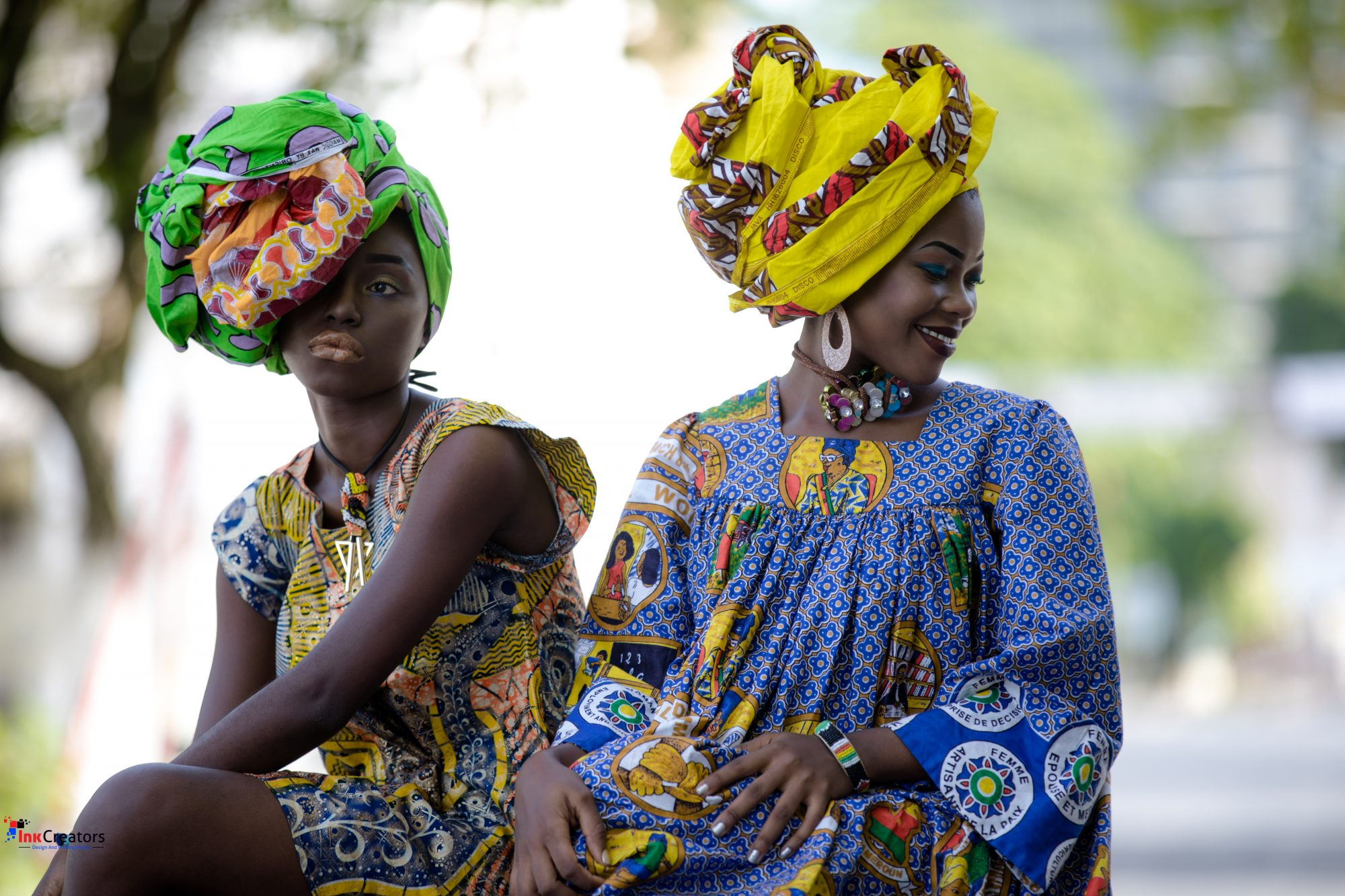 SPRING PRINTS INSPIRED BY CAMEROON FASHION