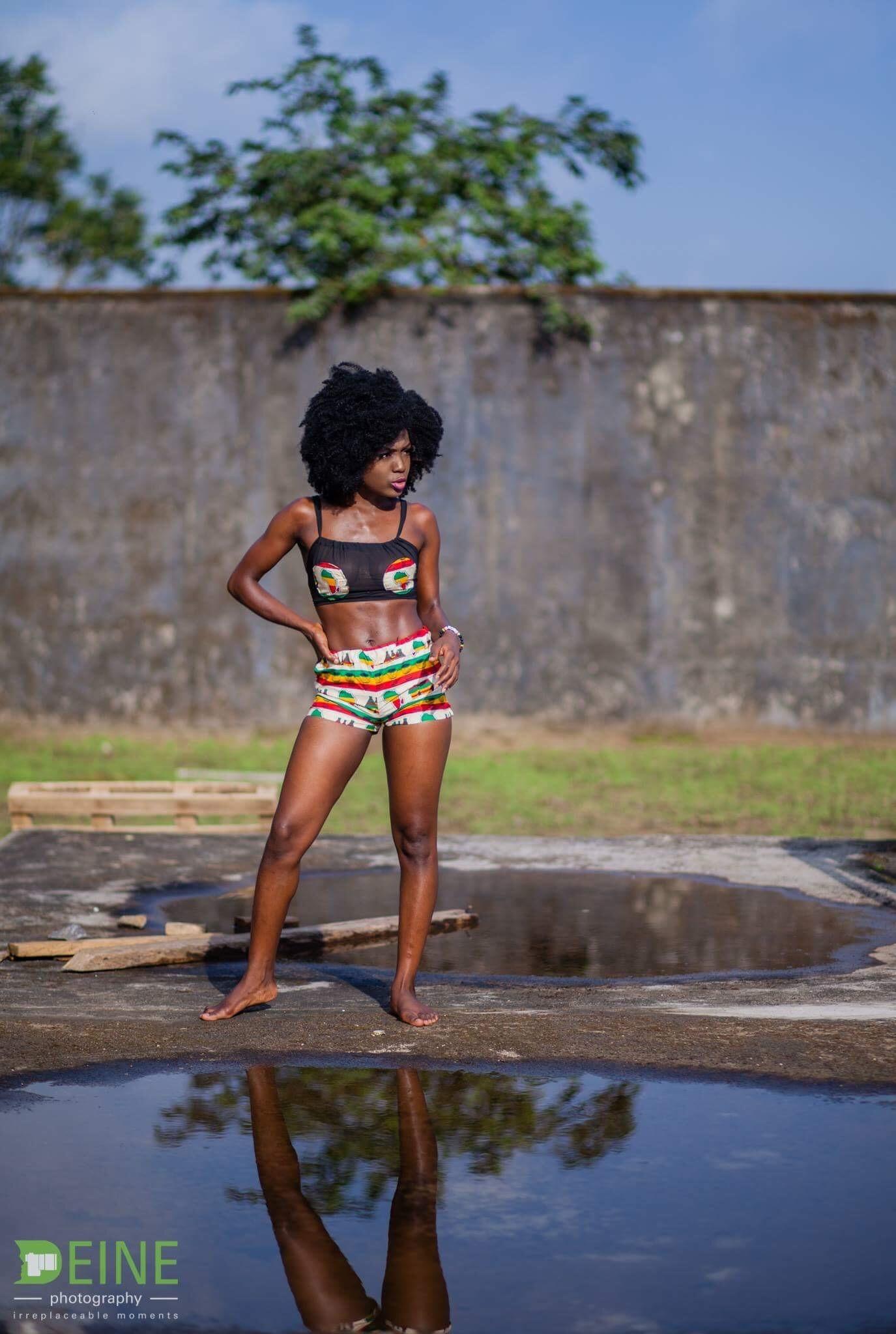 #AfricanPrint #PrintBikini #CameroonDesigners
