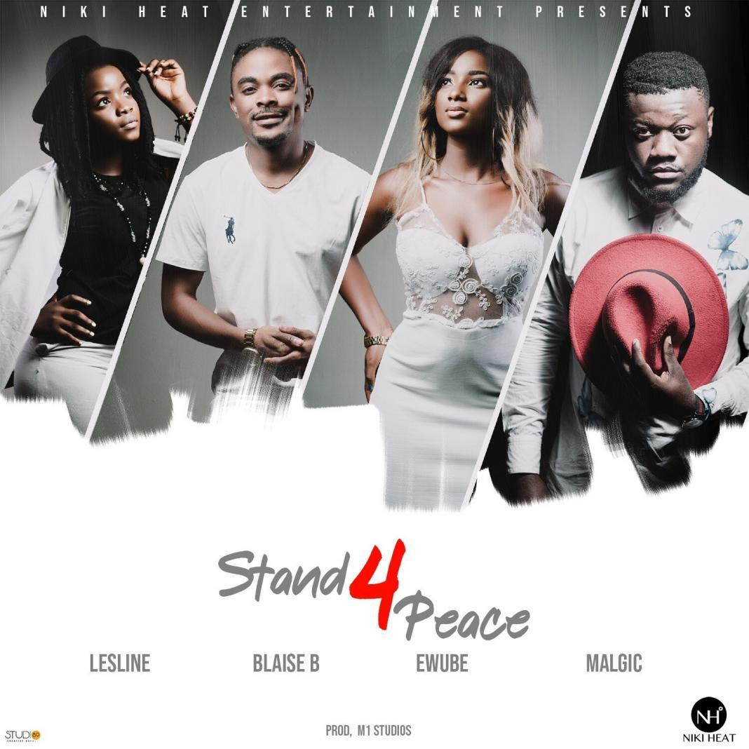 """Cameroonian Music Producer Blaise B returns with """"Stand for Peace"""" collaboration with Lesline, Ewube and Malgic"""