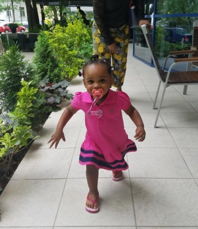 Little Girl Pink Ralph Lauren Dress