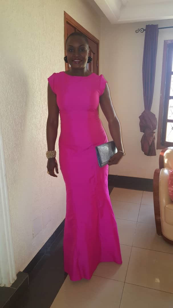 Celebrity Long Pink Gown