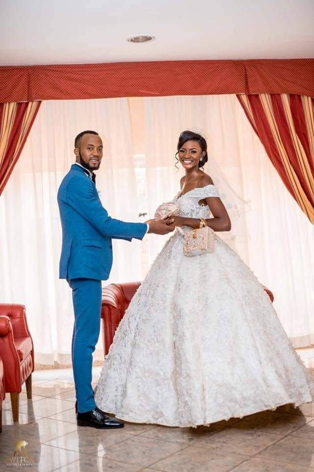 Wedding Pictures of a Cameroonian Beauty Vlogger