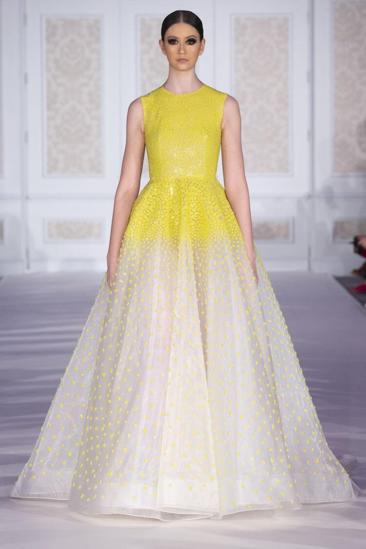 Fall 2019 couture collection of Womenswear