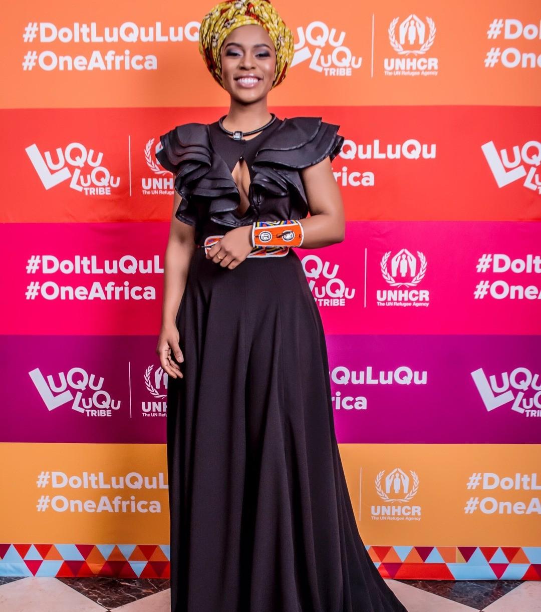 Brand Ambassador For AUDI| Nomzamo
