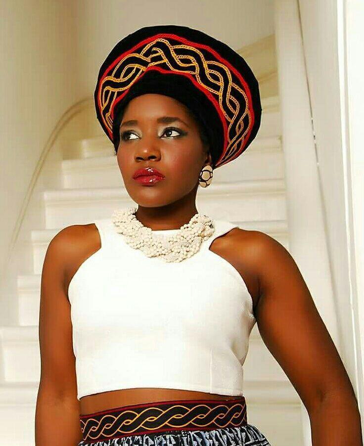 Colourful Cameroon Fashion Toghu accessories