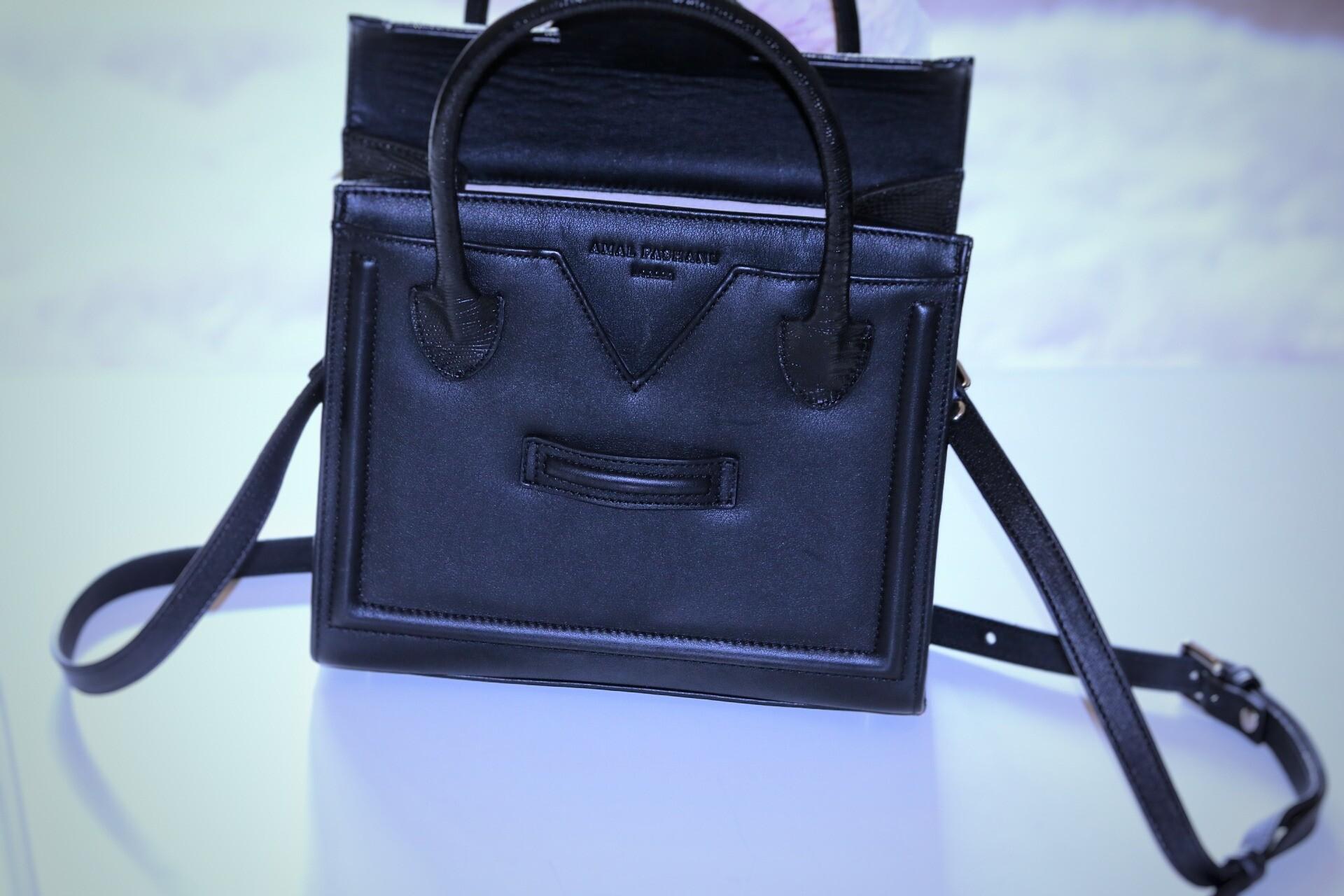 Amal Fashanu mini bags