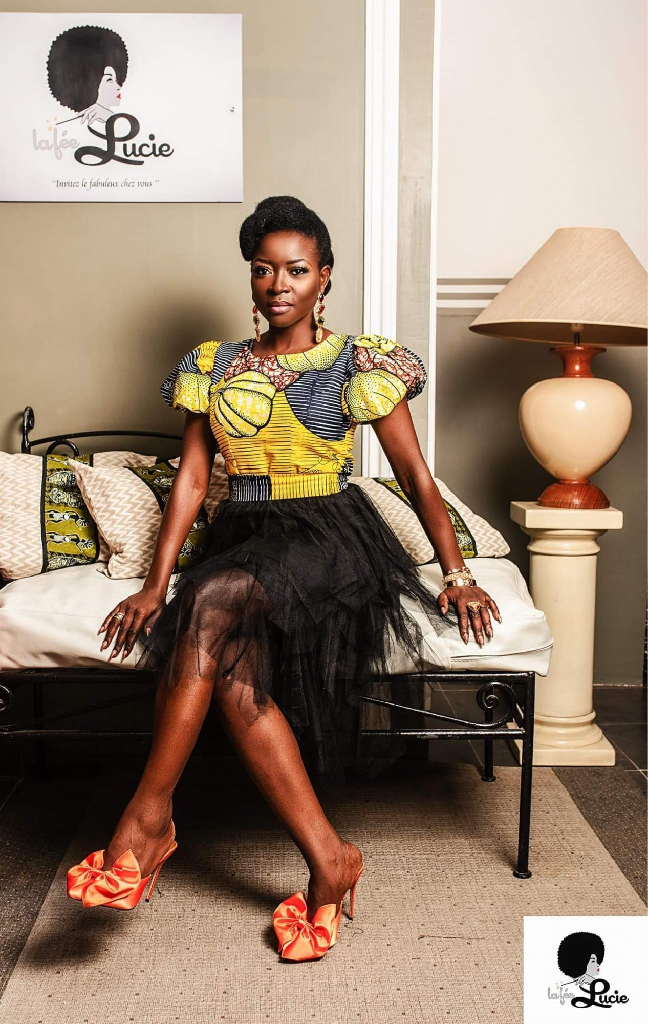 African Print Buba Blouse