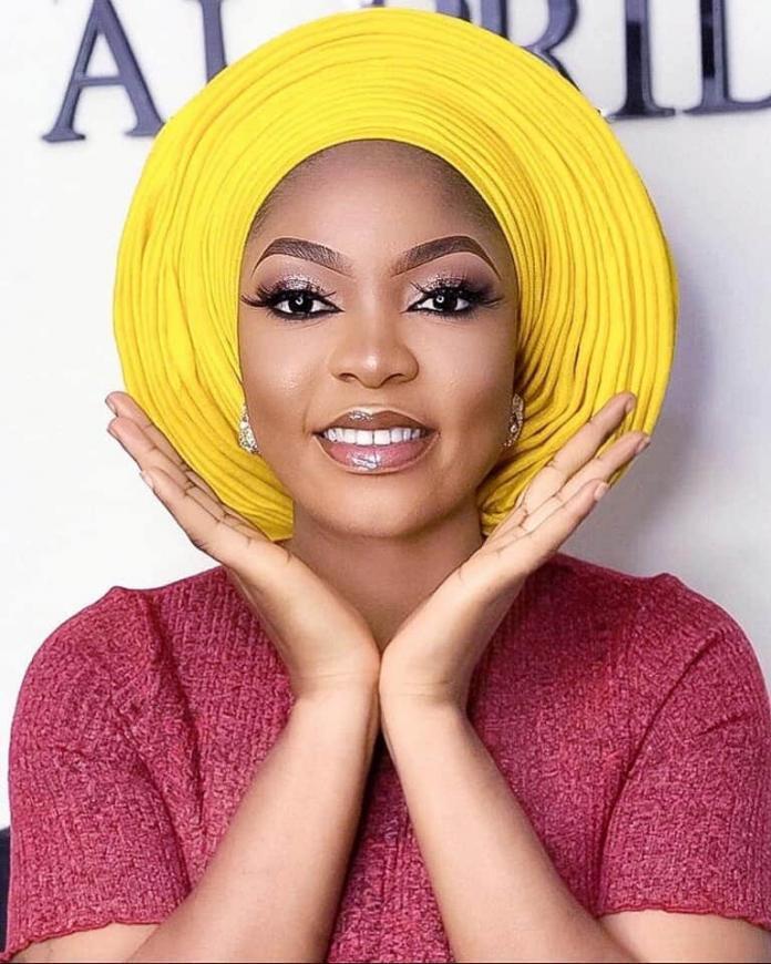 Yellow Gele Headwrap