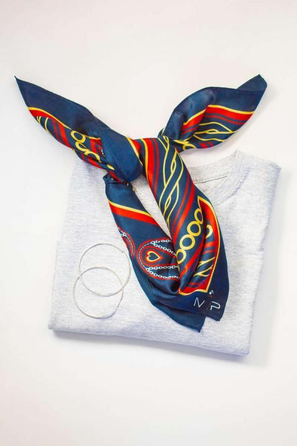 The Therese Silk Scarf